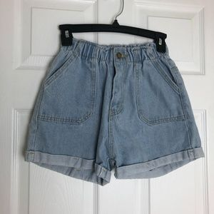 Falmer Heritage High Waisted Shorts Size S